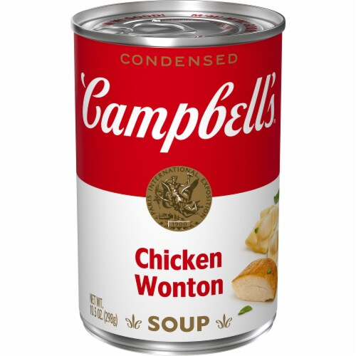 Campbell's® Condensed  Chicken Won Ton Soup Perspective: front