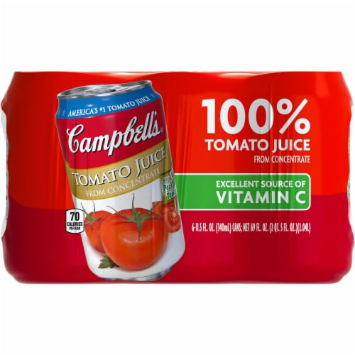 Campbell's 100% Tomato Juice Perspective: front