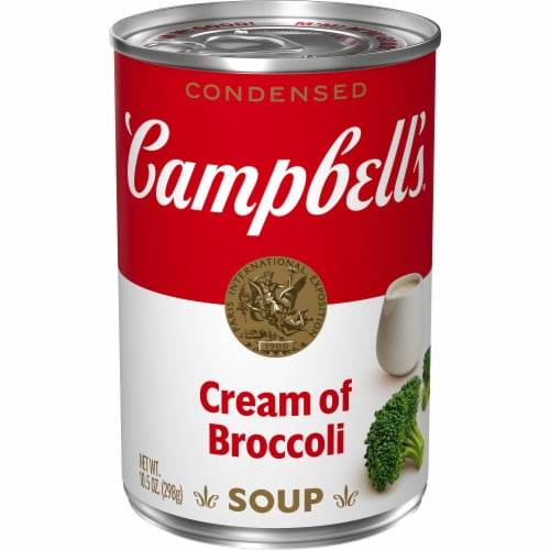 Campbell's Cream of Broccoli Condensed Soup Perspective: front