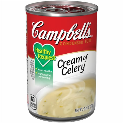 Campbell's Healthy Request Cream of Celery Condensed Soup Perspective: front