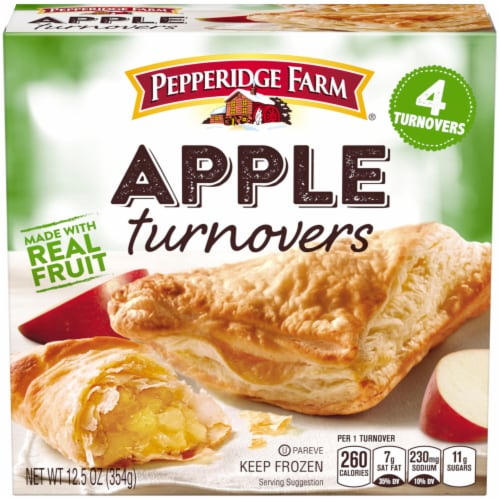 Pepperidge Farm Apple Turnovers 4 Count Perspective: front