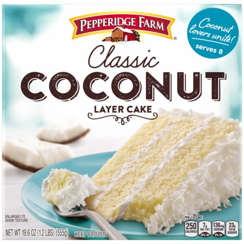 Pepperidge Farm Classic Coconut Layer Cake Perspective: front