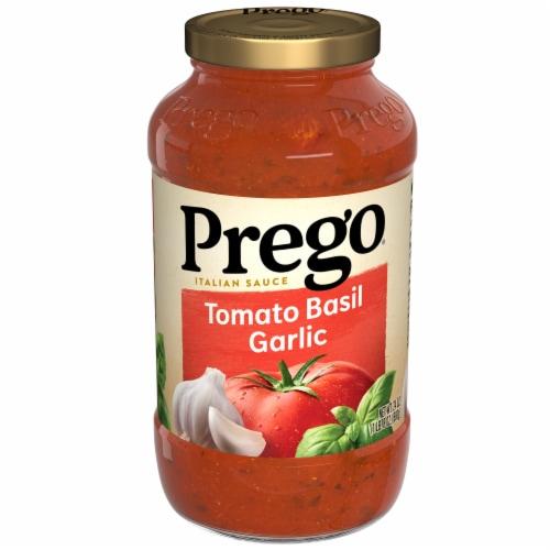 Prego Tomato Basil Garlic Italian Pasta Sauce Perspective: front