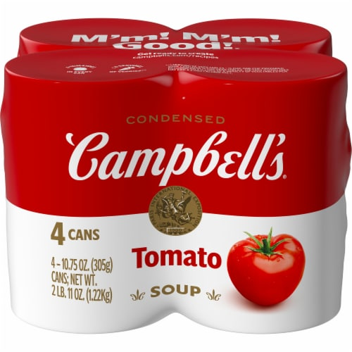 Campbell's Condensed Tomato Soup Perspective: front