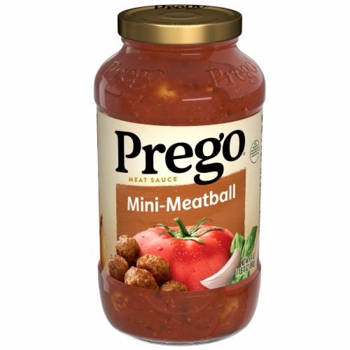 Prego Mini Meatball Pasta Sauce Perspective: front