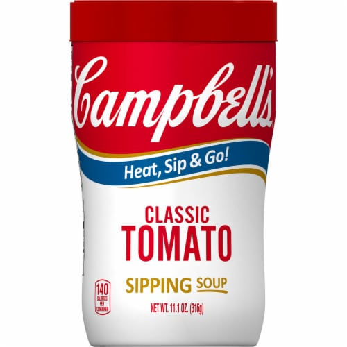Campbell's Soup on the Go Classic Tomato Soup Perspective: front