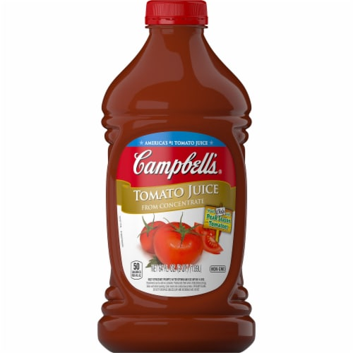 Campbell's Tomato Juice from Concentrate Perspective: front