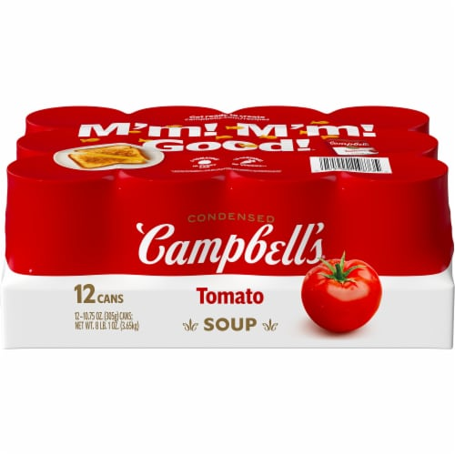 Campbell's Tomato Soup Perspective: front