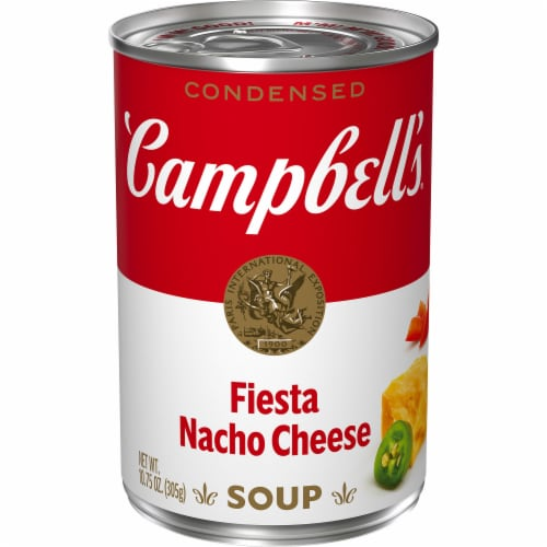 Campbell's Fiesta Nacho Cheese Condensed Soup Perspective: front