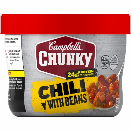 Campbell's Chunky Beef & Bean Roadhouse Chili Perspective: front