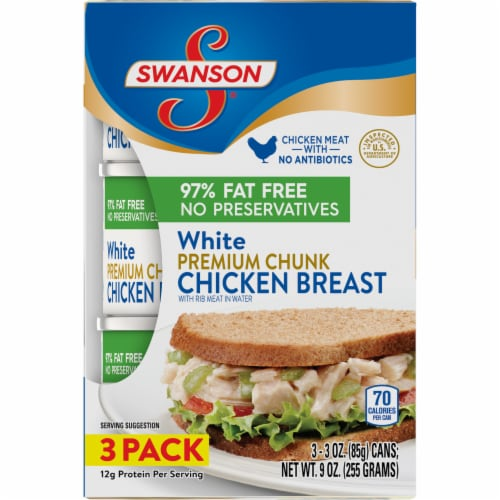 Swanson White Meat Chicken Breast Perspective: front