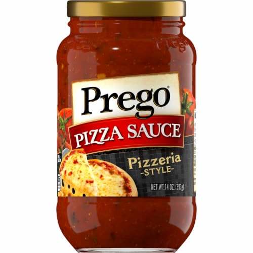 Prego Pizzeria Style Pizza Sauce Perspective: front