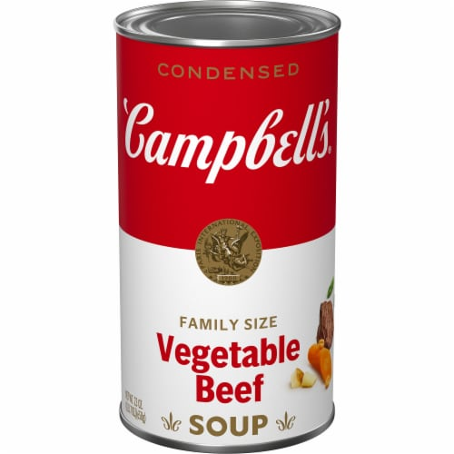 Campbell's® Vegetable Beef Condensed Soup Family Size Perspective: front