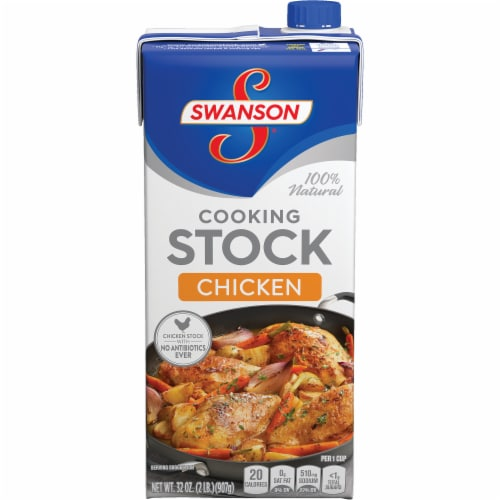 Swanson Chicken Stock Perspective: front