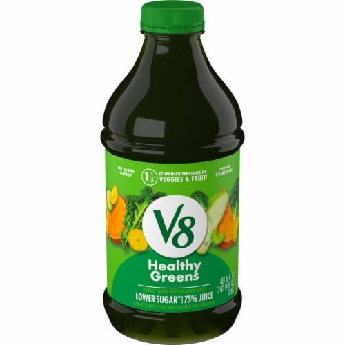 V8 Healthy Greens Juice Beverage Perspective: front