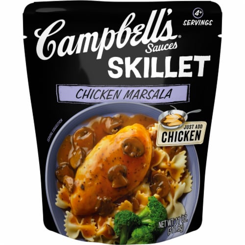 Campbell's Chicken Marsala Skillet Sauce Perspective: front