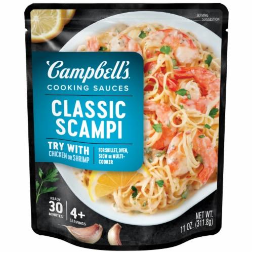 Campbell's Shrimp Scampi Skillet Sauce Perspective: front