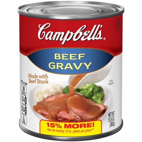 Campbell's Beef Gravy Perspective: front