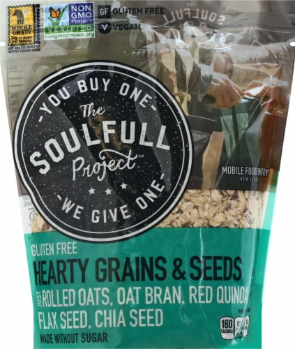 The Soulfull Project Hearty Grains & Seeds Perspective: front