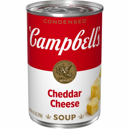 Campbell's Cheddar Cheese Condensed Soup Perspective: front