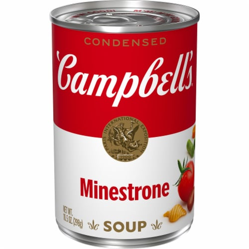Campbell's Minestrone Condensed Soup Perspective: front