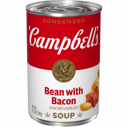 Campbell's Bean with Bacon Condensed Soup Perspective: front