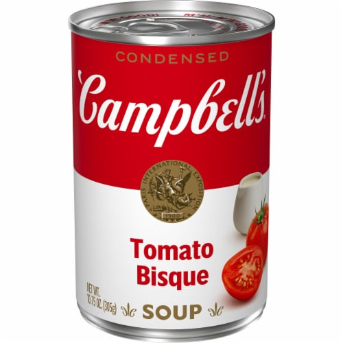 Campbell's Tomato Bisque Condensed Soup Perspective: front