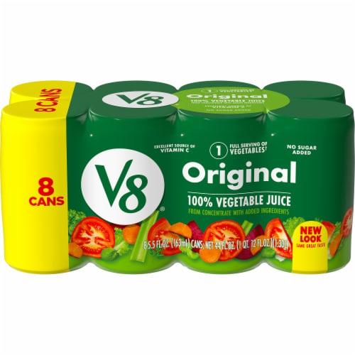 V8 Original Vegetable Juice Perspective: front
