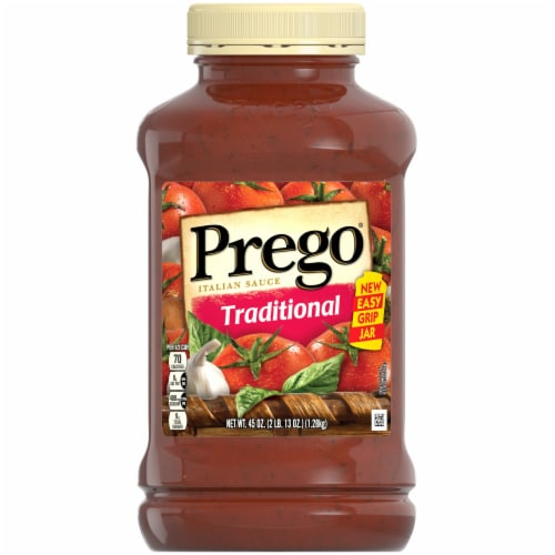 Prego Traditional Italian Sauce Perspective: front