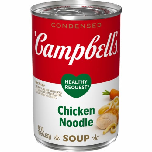 Campbell's® Condensed Healthy Request Chicken Noodle Soup Perspective: front
