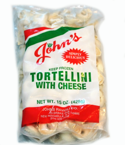 John's Pasta Cheese Tortellini Perspective: front