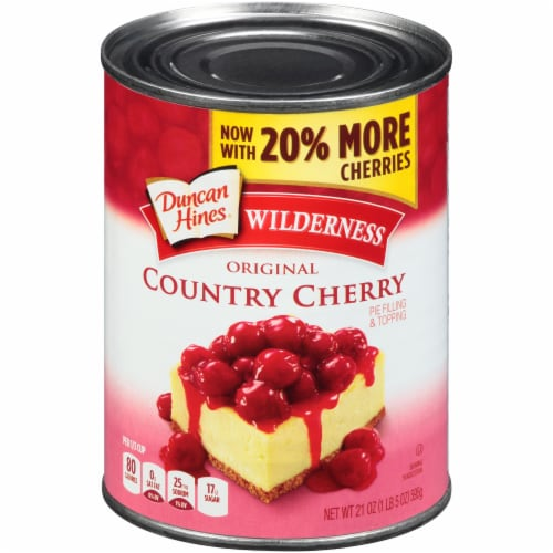 Wilderness Country Cherry Pie Filling Perspective: front