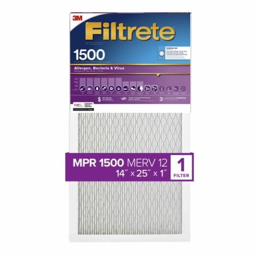 3M Filtrete Healthy Living 1500 Ultra Allergen Filter Perspective: front