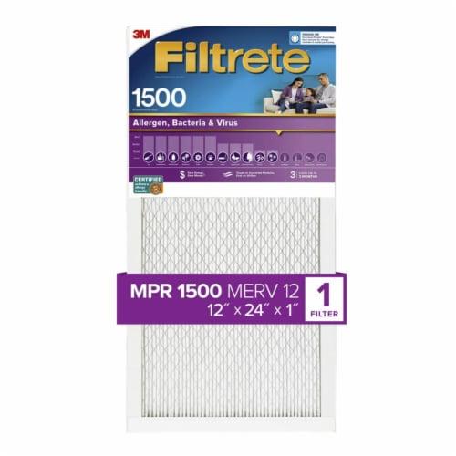 3M Filtrete Ultra Allergen 1250 Filter Perspective: front