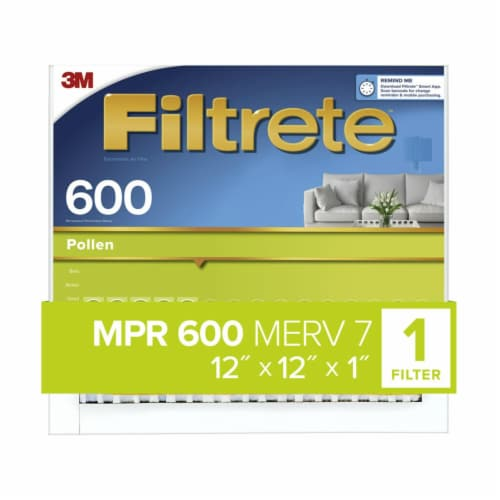 Filtrete Clean Living Dust Reduction Air Filter Perspective: front