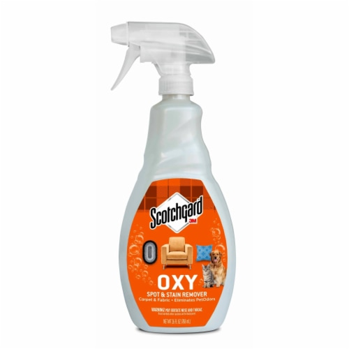 Scotchgard™ Oxy Pet Carpet & Fabric Spot & Stain Remover Spray Perspective: front