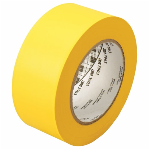 3M Vinyl Duct Tape 3903 Yellow, 2 in x 50 yd 6.5 mil, 24 per case Individua Perspective: front