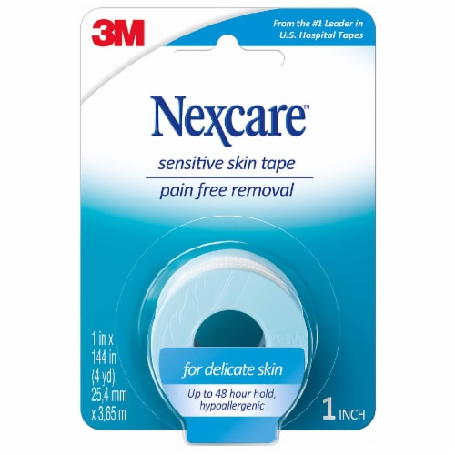 Nexcare Sensitive Skin Tape Perspective: front
