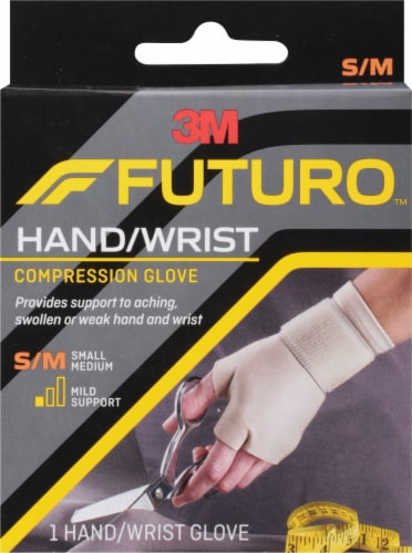 Futuro Small/Medium Energizing Support Glove Perspective: front