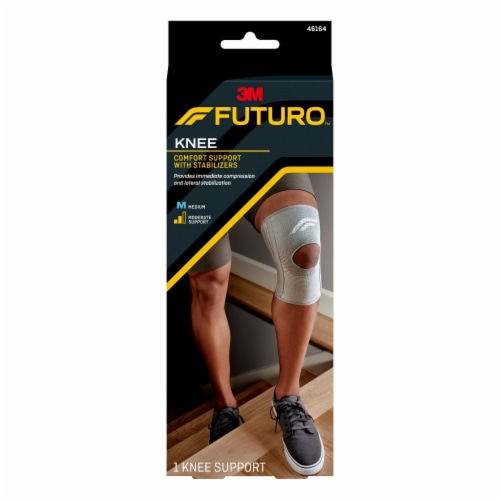 Futuro Comfort Knee Support with Stabilizers Perspective: front