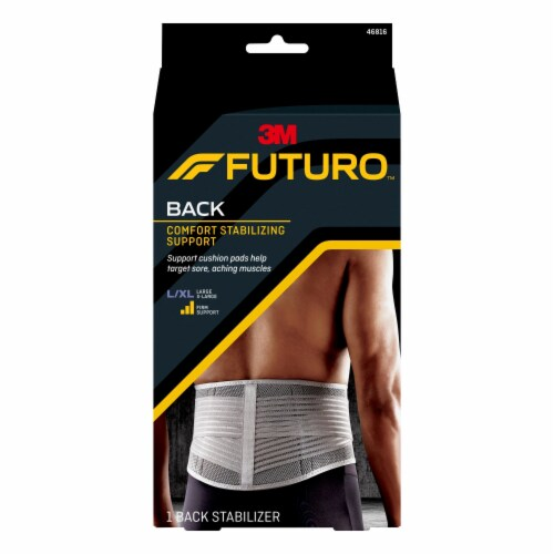 Futuro Stabilizing Back Support Large/X-Large Perspective: front