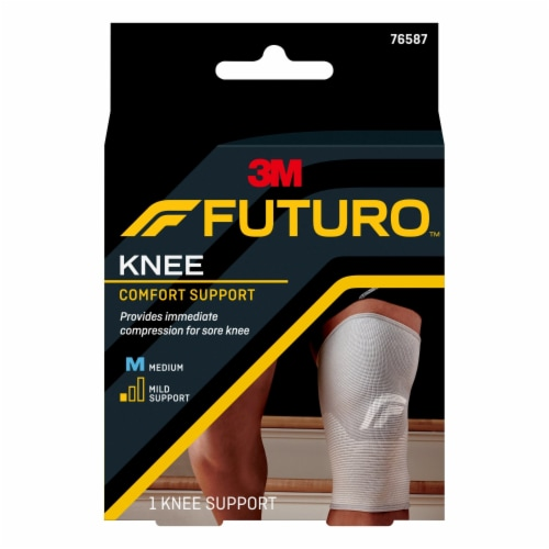 Futuro™ Comfort Life Medium Knee Support Perspective: front