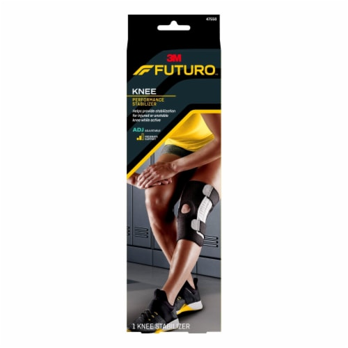 Futuro Performance Knee Stabilizer - Black Perspective: front