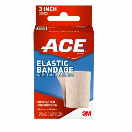 Ace 3 Inch Elastic Bandage with Hook Closure Perspective: front