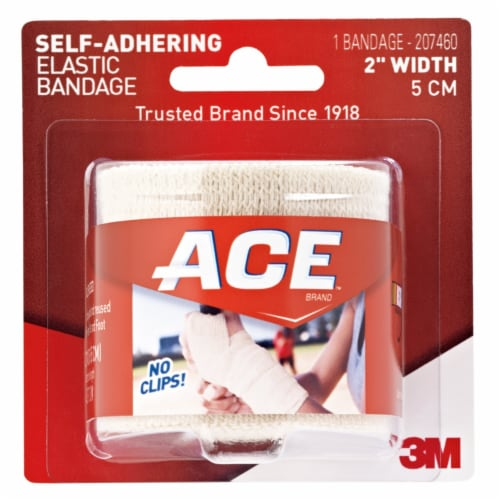 Ace 2 inch Self-Adhering Elastic Bandage Perspective: front