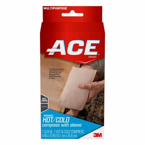 Ace Reusable Hot/Cold Compress with Sleeve Perspective: front