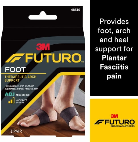 Futuro Adjustable Therapeutic Arch Support Perspective: front