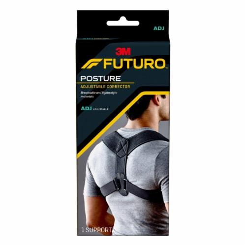 Futuro Adjustable Posture Corrector Perspective: front