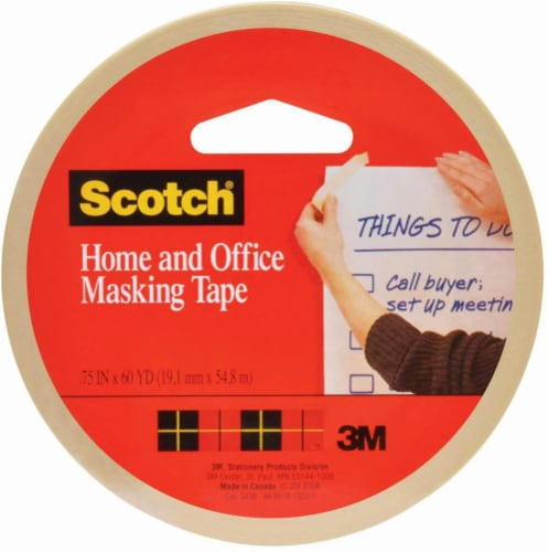Scotch® Home and Office Masking Tape - Beige Perspective: front