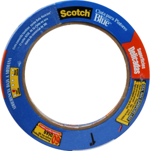 Scotch® Blue™ Painter's Tape - Blue Perspective: front